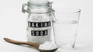 baking soda remove tartar plaque