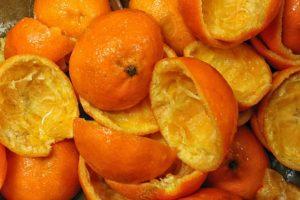 orange peels remove plaque tartar